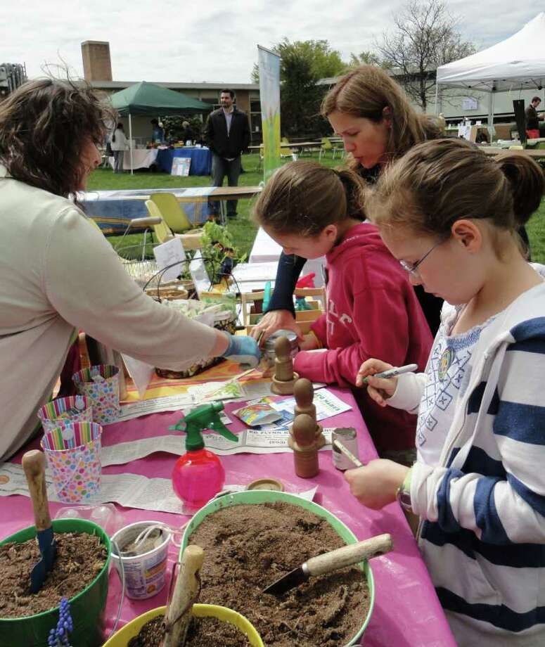 Enjoy music, food and fun all while learning to be more green at Fairfield's annual Earth Day Celebration on Saturday at Fairfield Warde High School. Learn more.  Photo: Meg Barone / Fairfield Citizen freelance
