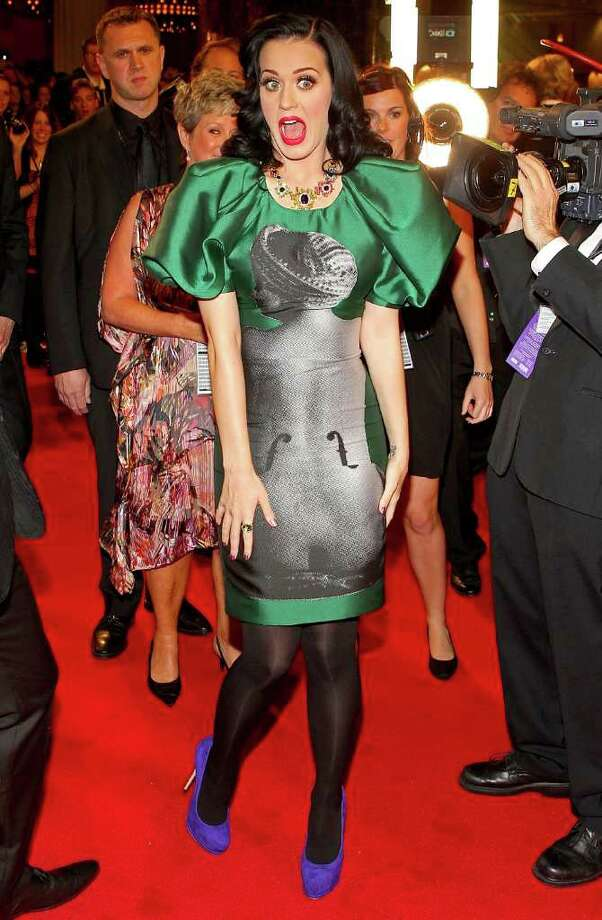Singer Katy Perry arrives on the red carpet ahead of the 2011 Logie Awards (Australian TV awards) at Crown Palladium in Melbourne, Australia on Sunday, May 1, 2011. Photo: Scott Barbour, Getty Images / 2011 Getty Images
