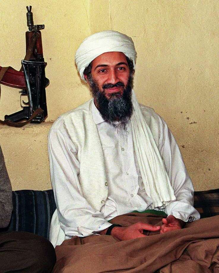 An undated file picture of Saudi dissident Osama Bin Laden, in an undisclosed place inside Afghanistan. The Taliban said on Aug. 8, 1998, that bin Laden had nothing to do with two bomb attacks against United States embassies in Kenya and Tanzania. The billionaire Bin Laden, member of a family of wealthy Saudi construction tycoon, was blamed for two bomb blasts in his home country in 1995-96 that killed 24 US servicemen.    AFP PHOTO Photo: -, AFP/Getty Images / AFP