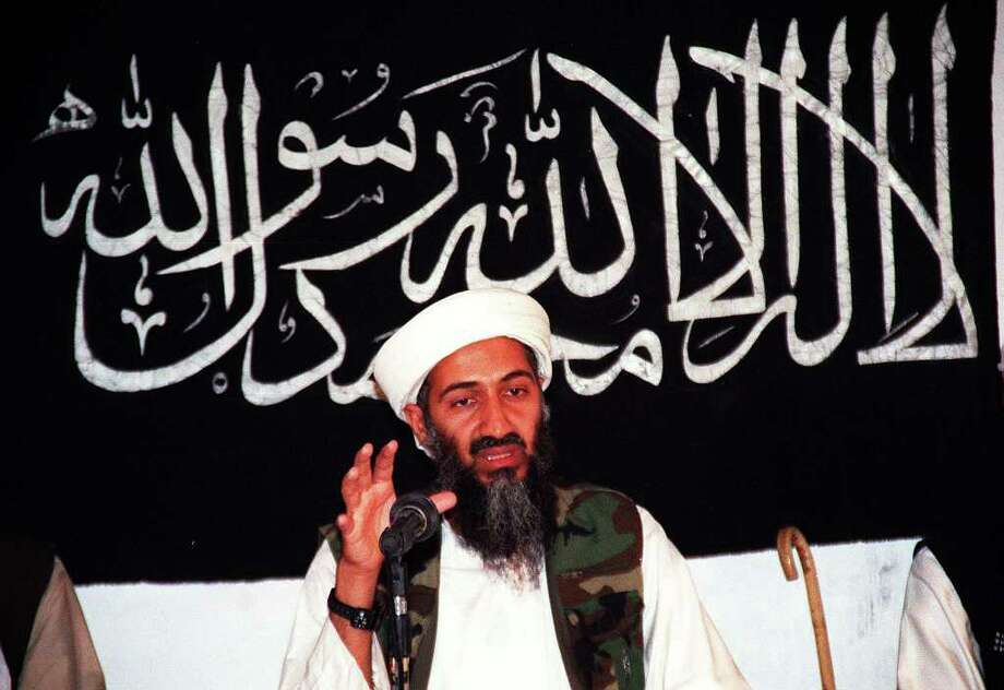 Undated file picture of Saudi dissident Osama Bin Laden in an undisclosed place inside Afghanistan. Photo: AFP, AFP/Getty Images / AFP