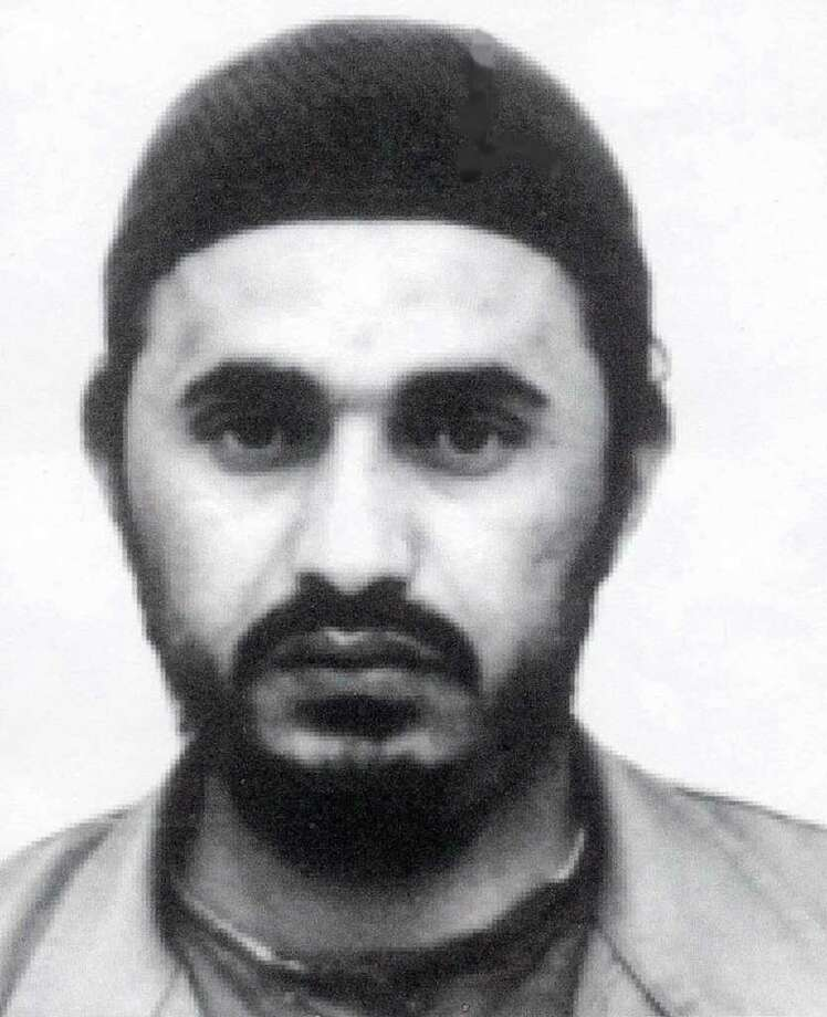 "This is an undated photo released in Amman, Jordan, Saturday, Dec. 14, 2002, of Abu Musab Al-Zarqawi, a Jordanian who was considered one of the top al-Qaida lieutenants still at large. Speaking to the United Nations Security Council on Feb. 5, 2003, U.S. Secretary of State Colin Powell said ""Iraq today harbors a deadly terrorist network headed by Abu Musab Al-Zarqawi, an associated collaborator of Osama bin Laden and his al-Qaida lieutenants."" (AP Photo/HO, Petra) Photo: Associated Press / PETRA"