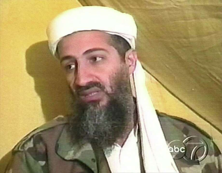 In this file image taken from video broadcast Thursday, Dec. 24, 1998, Osama bin Laden speaks during an interview at an undisclosed location in Afghanistan. A person familiar with developments said Sunday, May 1, 2011 that bin Laden is dead and the U.S. has the body. Photo: AP