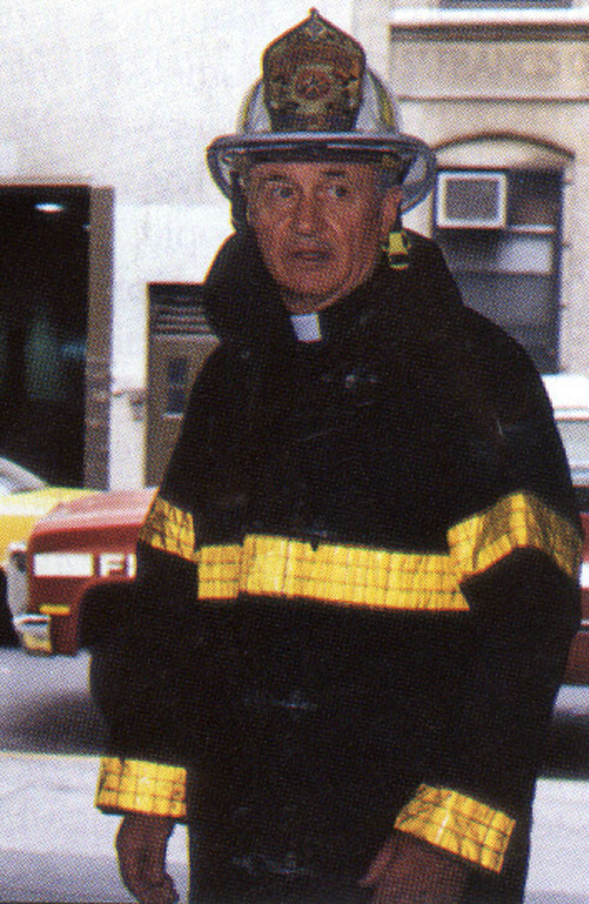 The Rev. Mychal Judge, a chaplain with the New York City Fire Department, died in the Sept. 11, 2001 collapse of the World Trade Center in New York City.