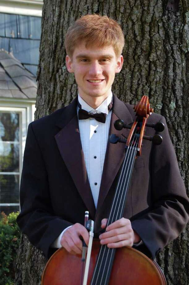 Fairfielder Alexander Ullman, winner of the Greater Bridgeport Youth Orchestra's Concerto Competition, will be the cello soloist at the GBYO's Spring Concert May 15 in Bridgeport. Photo: Contributed Photo / Connecticut Post Contributed