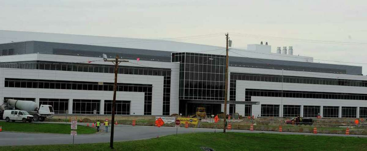 Construction continues on the Global Foundries plant in Malta, N.Y. May 1, 2011. (Skip Dickstein / Times Union archive)