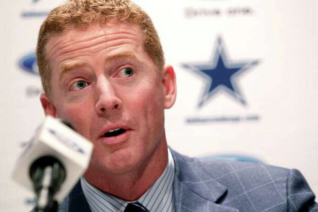 "Dallas Cowboys coach Jason Garrett says he wants players whose college teammates ""looked to them as leaders."" Photo: Tony Gutierrez, Tony Gutierrez/Associated Press / AP"