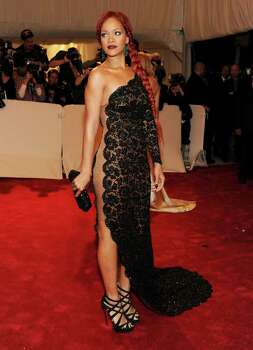 "NEW YORK, NY - MAY 02:  Singer Rihanna attends the ""Alexander McQueen: Savage Beauty"" Costume Institute Gala at The Metropolitan Museum of Art on May 2, 2011 in New York City.  (Photo by Larry Busacca/Getty Images) *** Local Caption *** Rihanna; Photo: Getty Images"