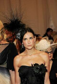 "NEW YORK, NY - MAY 02:  Actress Demi Moore attends the ""Alexander McQueen: Savage Beauty"" Costume Institute Gala at The Metropolitan Museum of Art on May 2, 2011 in New York City.  (Photo by Larry Busacca/Getty Images) *** Local Caption *** Demi Moore; Photo: Getty Images"