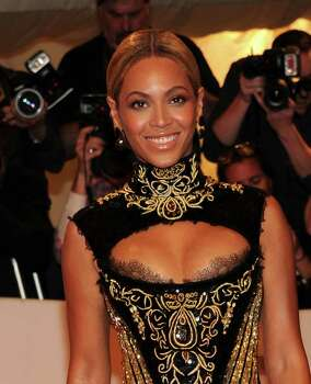 "NEW YORK, NY - MAY 02:  Singer Beyonce attends the ""Alexander McQueen: Savage Beauty"" Costume Institute Gala at The Metropolitan Museum of Art on May 2, 2011 in New York City.  (Photo by Larry Busacca/Getty Images) *** Local Caption *** Beyonce Knowles; Photo: Getty Images"