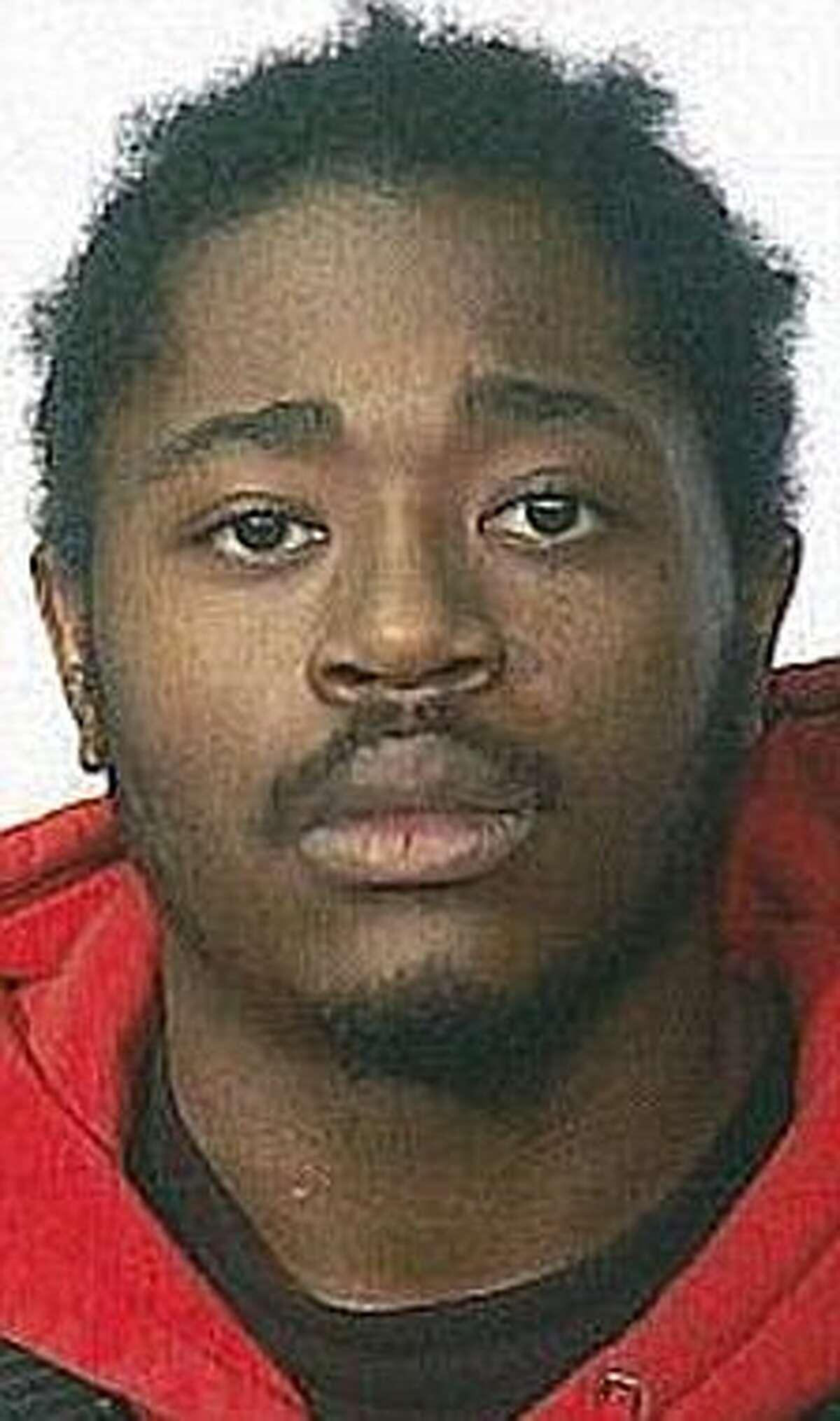 Djavan Perry, 20, of Brooklyn, was captured by U.S. marshals Tuesday morning, May 3, 2011, in Albany, to face allegations that he killed another man in Brooklyn on April 17, 2011. The shooting was caught by a security camera in the apartment building. The shooting killed Andre Pitts, 18, also of Brooklyn. (Albany Police Department)