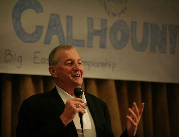 UConn men's basketball coach Jim Calhoun is the keynote speaker at a celebrity breakfast at the Jewish Community Center in Bridgeport on Tuesday, May 3, 2011. Photo: Brian A. Pounds / Connecticut Post