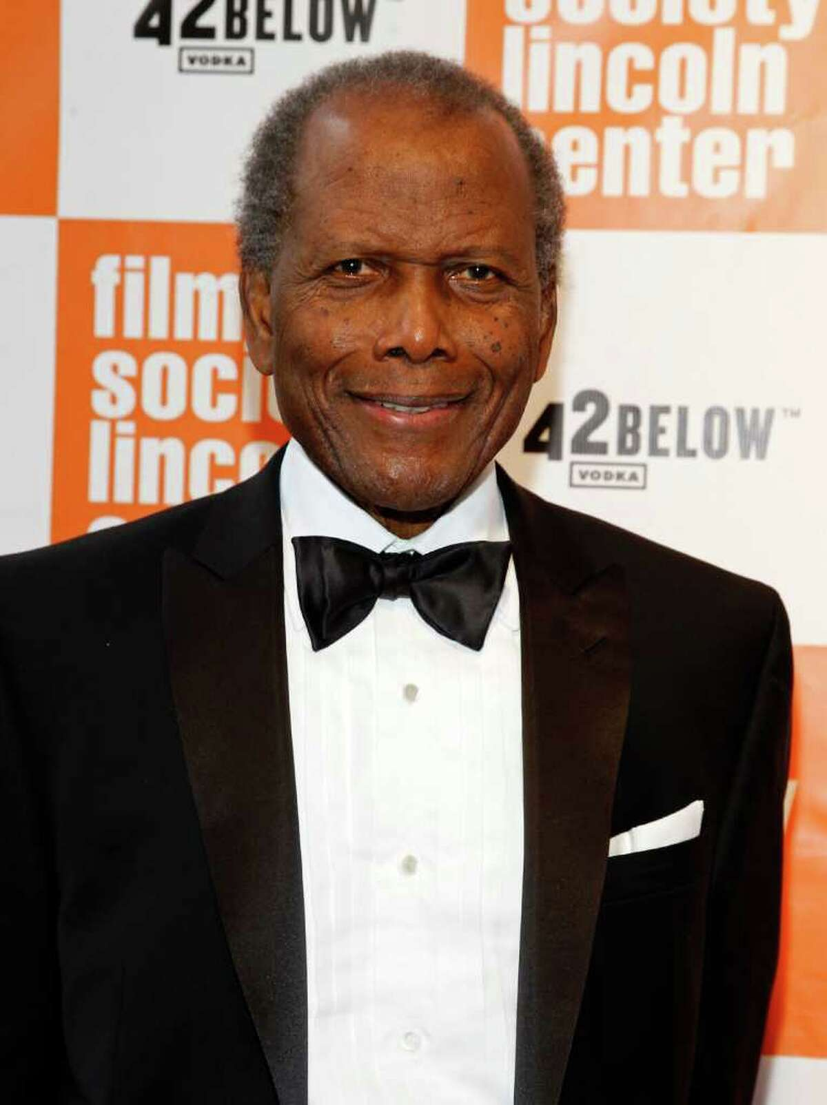NEW YORK, NY - MAY 02: Honoree Sidney Poitier attends The Film Society of Lincoln Center's presentation of the 38th Annual Chaplin Award at Alice Tully Hall on May 2, 2011 in New York City. (Photo by Mark Von Holden/Getty Images) *** Local Caption *** Sidney Poitier;