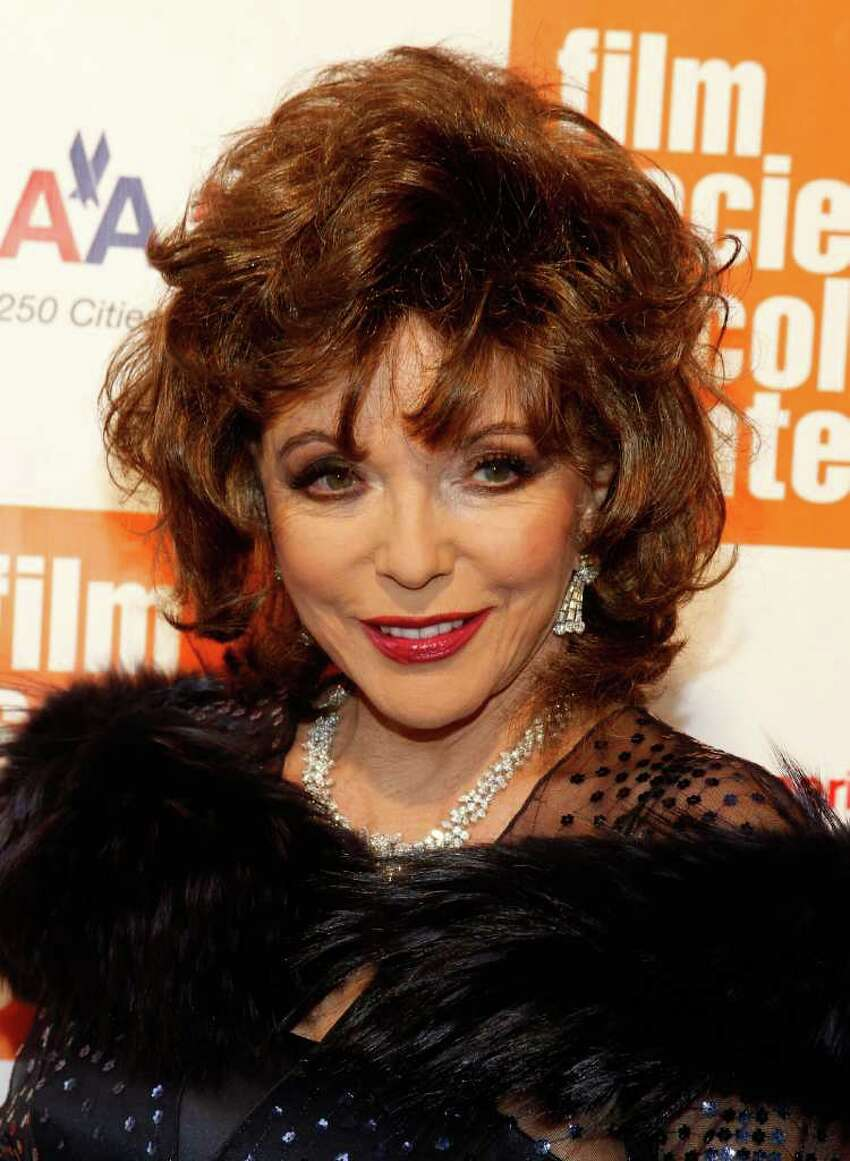 NEW YORK, NY - MAY 02: Actress Joan Collins attends The Film Society of Lincoln Center's presentation of the 38th Annual Chaplin Award at Alice Tully Hall on May 2, 2011 in New York City. (Photo by Mark Von Holden/Getty Images) *** Local Caption *** Joan Collins;