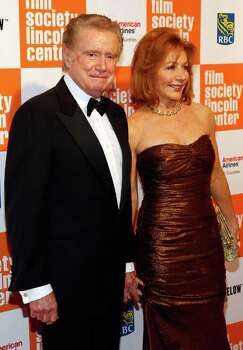 NEW YORK, NY - MAY 02:  Regis Philbin (L) and wife Joy Philbin attend The Film Society of Lincoln Center's presentation of the 38th Annual Chaplin Award at Alice Tully Hall on May 2, 2011 in New York City.  (Photo by Mark Von Holden/Getty Images) *** Local Caption *** Regis Philbin;Joy Philbin; Photo: Getty Images