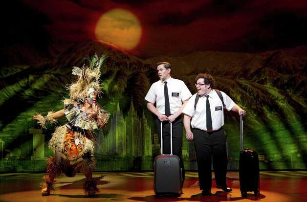 """The Book of Mormon"" has been a critical and box-office darling even without big-name stars. Photo: Joan Marcus, Courtesy / ©2011 Joan Marcus"