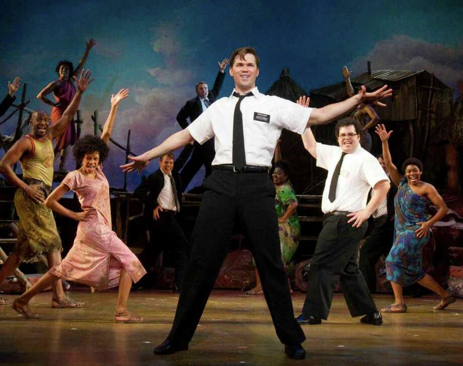 "The blockbuster musical ""The Book of Mormon"" opens the 2013-14 Broadway in San Antonio season. Photo: Joan Marcus, Courtesy / Boneau/Bryan-Brown"