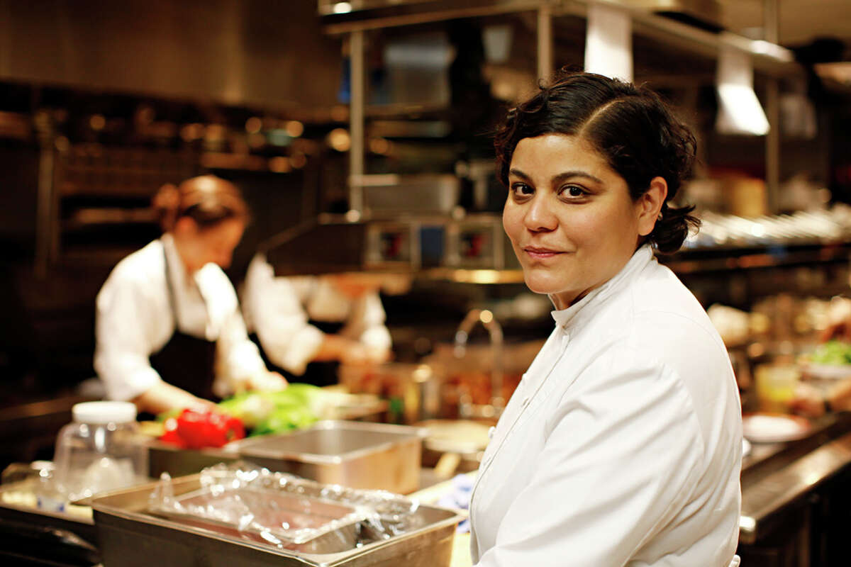 San Antonio native Julie Farias is the executive chef at the Thompson Lower East Side Hotel in Manhattan, N.Y. MICHAEL RUBENSTEIN / SPECIAL TO THE EXPRESS-NEWS