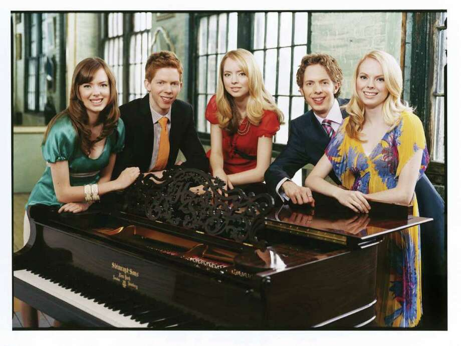 The 5 Browns, a group of musical siblings, will be bringing their dynamic talents and lively stage presence to the Palace Theatre in Stamford, Saturday, May 7. They will be performing a variety of piano pieces from duos to complex, five-piano arrangements. For more information, visit www.scalive.org. Photo: Contributed Photo / Stamford Advocate Contributed