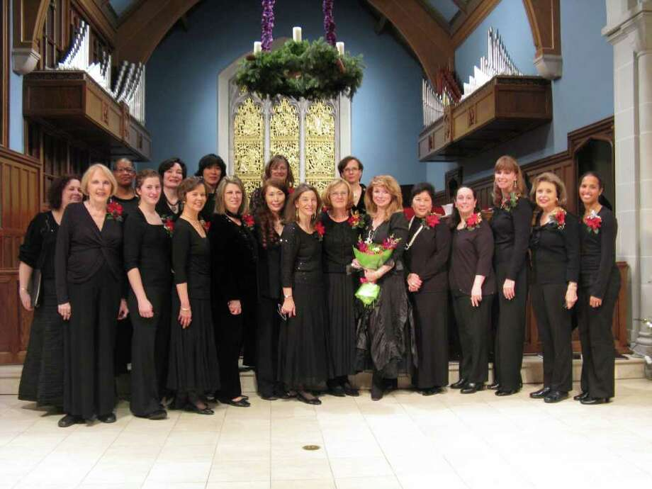 The Westfair Singers, a women's chamber choral ensemble under the direction of Mary Jane Newman, will present 'Voices of Spring' at 4 p.m., Saturday, May 7, at the First Congregational Church in Old Greenwich. Photo: Contributed Photo / Stamford Advocate Contributed