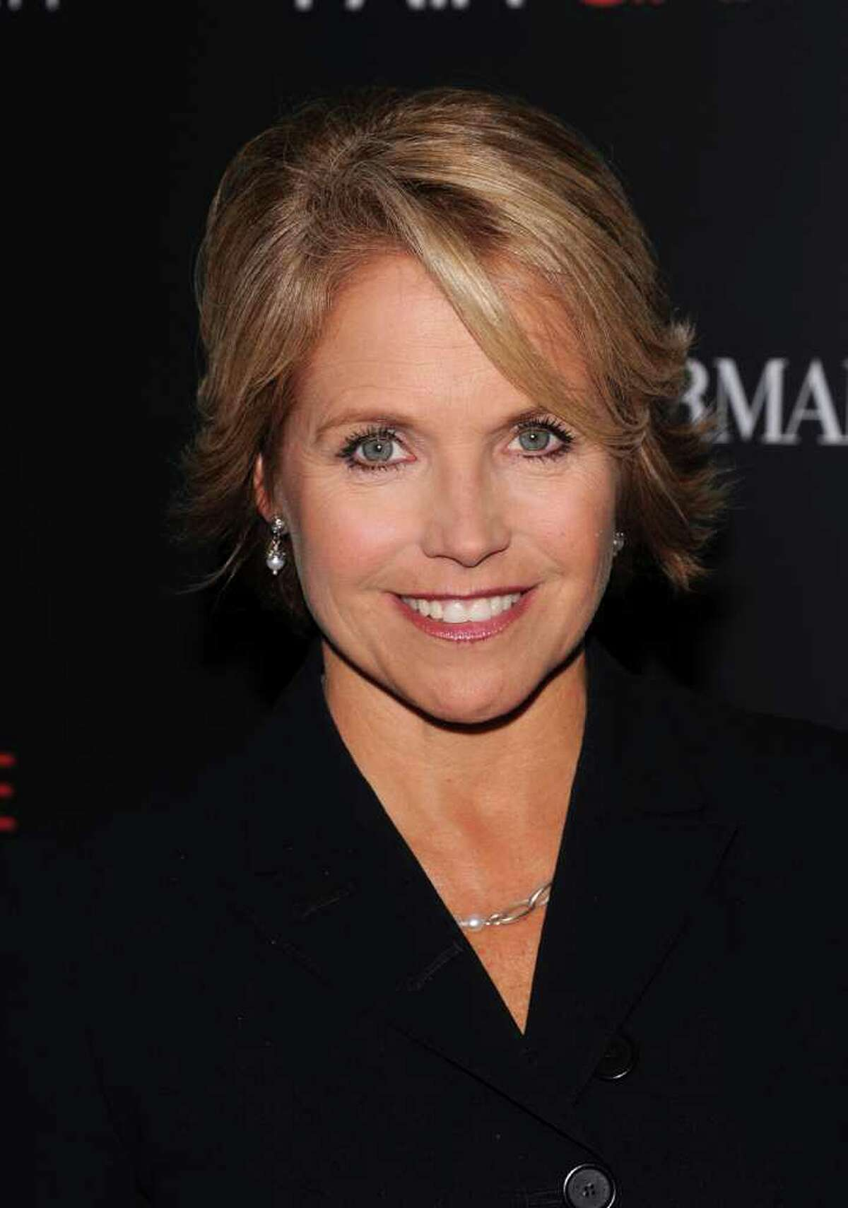 FILE - In this Oct. 6, 2010 file photo, Katie Couric attends a Cinema Society screening of