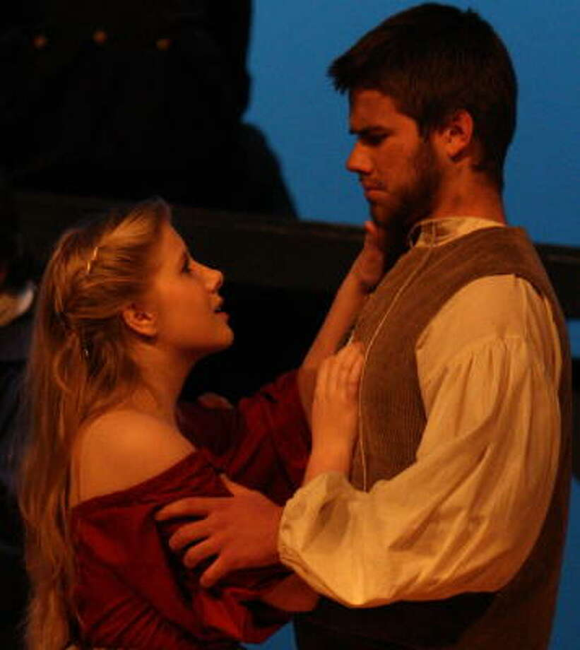 "'THE CRUCIBLE': Ross Bechtold shares a scene with Logan Hardy in ""The Crucible."" Photo: Courtesy, Scottie Hardy"