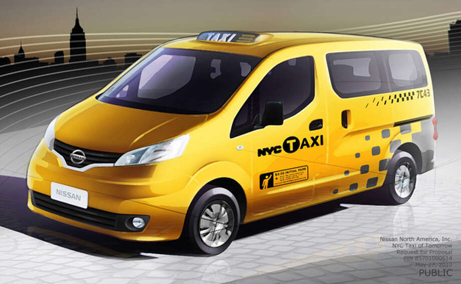 Nissan's winning proposal for New York City's 'Taxi of Tomorrow.' Photo: Taxi And Limousine Commission