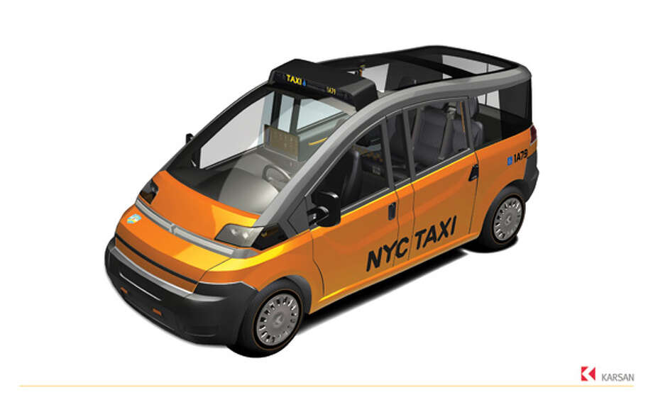 Karsan's proposal for New York City's 'Taxi of Tomorrow.' Photo: Hexagon Studio | Www.hexagonstudio.com.tr, Taxi And Limousine Commission