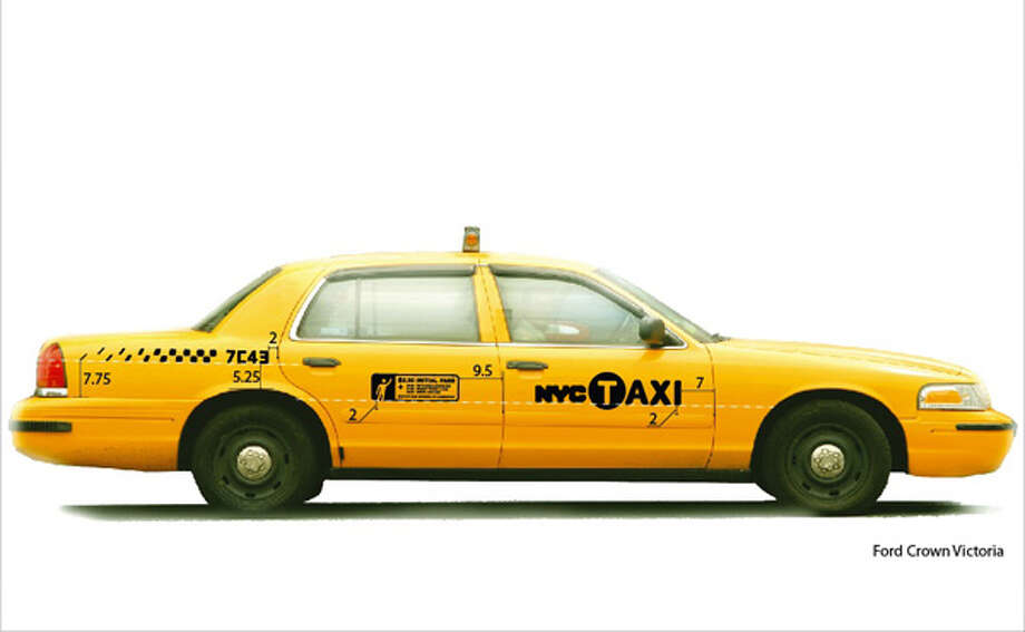 The Ford Crown Victoria is the most-common New York taxi. Photo: New York Taxi And Limousine Commission