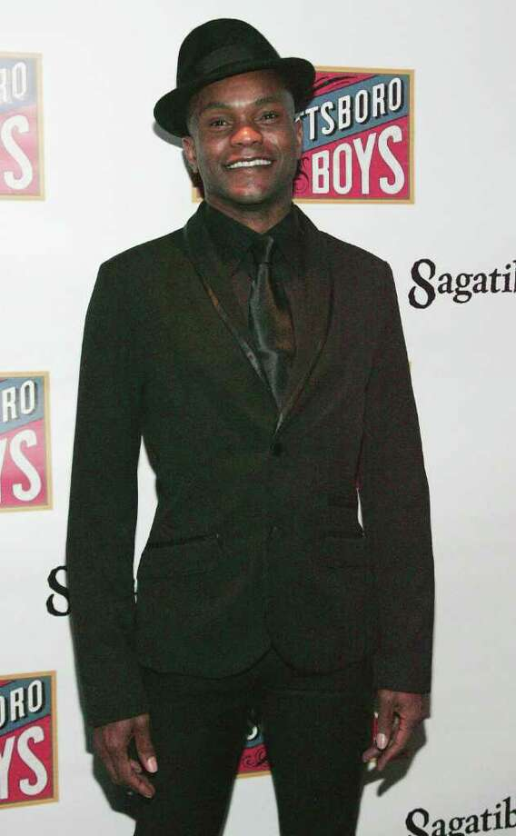 "Norwalk native Forrest McClendon attends ""The Scottsboro Boys"" Broadway opening night a Oct. 31. McClendon was nominated Monday for a Tony Award in the category off Best Performance by an Actor in a Featured Role in a Musical. Photo: John W. Ferguson, Getty Images / 2010 Getty Images"