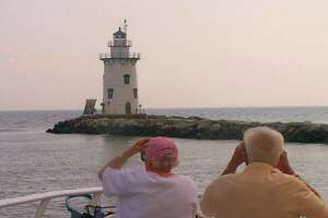 State license plate lighthouse sold; Norwalk one still for sale - Photo