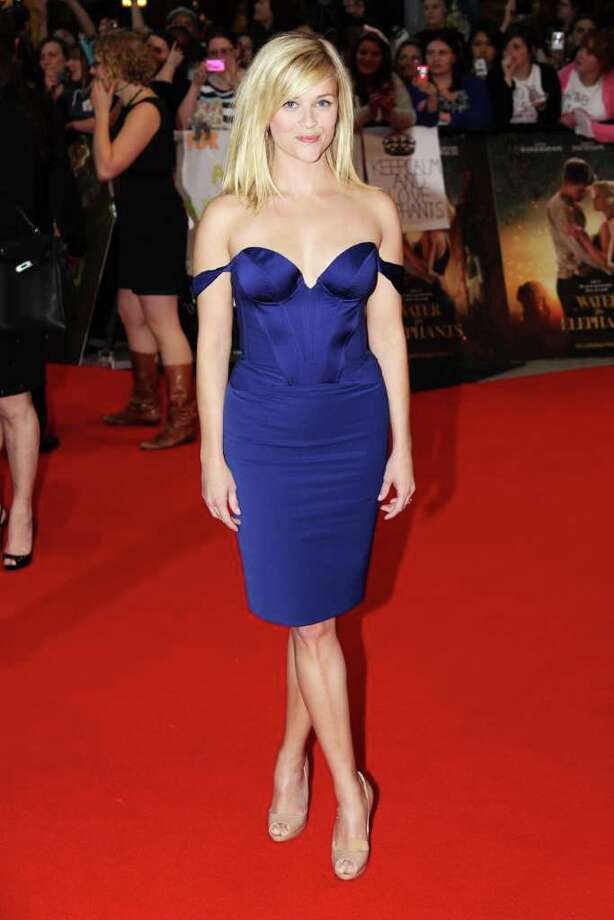 Reese Witherspoon attends the UK premiere of Water for Elephants at the Vue Westfield on May 3, 2011 in London, England.  (Photo by Dave Hogan/Getty Images) Photo: Getty Images