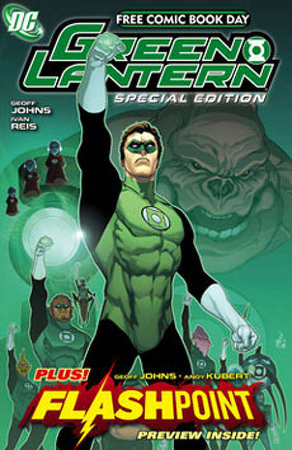 DC is publishing a special edition of The Green Lantern for Free Comic Book Day