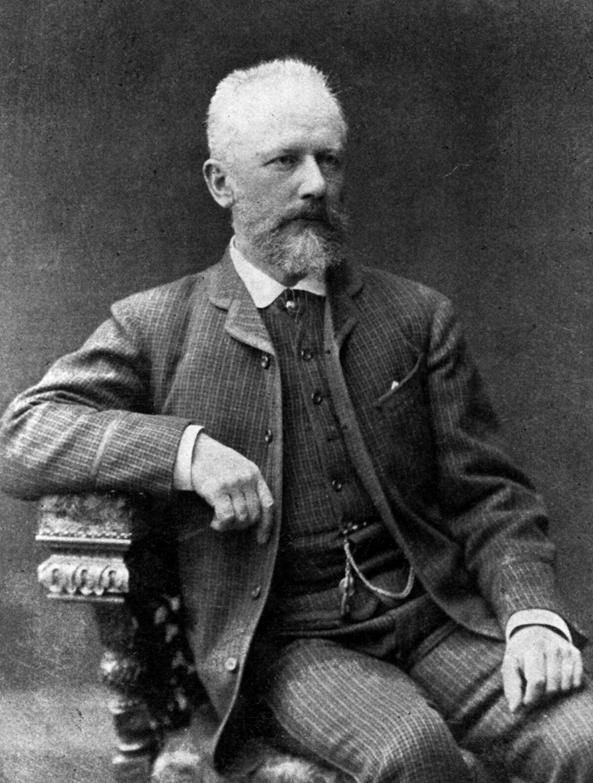 Peter Tchaikovsky's works include six symphonies and three piano concertos, a violin concerto and 11 operas. HULTON ARCHIVE / GETTY IMAGES