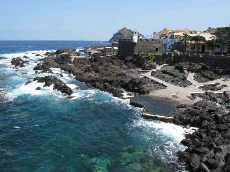 The town of Garachico, on Tenerife's north coast, has beautiful beaches and lots of historical buildings. Photo: AMY LAUGHINGHOUSE