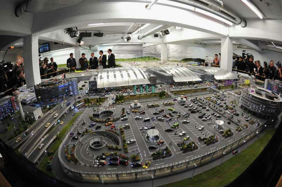 HAMBURG, GERMANY - MAY 04:  A general view at the opening of the new miniature model Knuffingen Aiport at Miniatur Wunderland on the airport's opening day on May 4, 2011 in Hamburg, Germany. Miniatur Wunderland is the world's largest model railroad landscape, and the model airport, also the world's largest, goes into operation following 6 years of development and construction and an investment of EUR 3.5 million. The airport is a reproduction of Hamburg's international airport and includes 40 aircraft that take off and land and 90 vehicles that autonomously move around the runways on May 4, 2011 in Hamburg, Germany. Photo: Getty Images