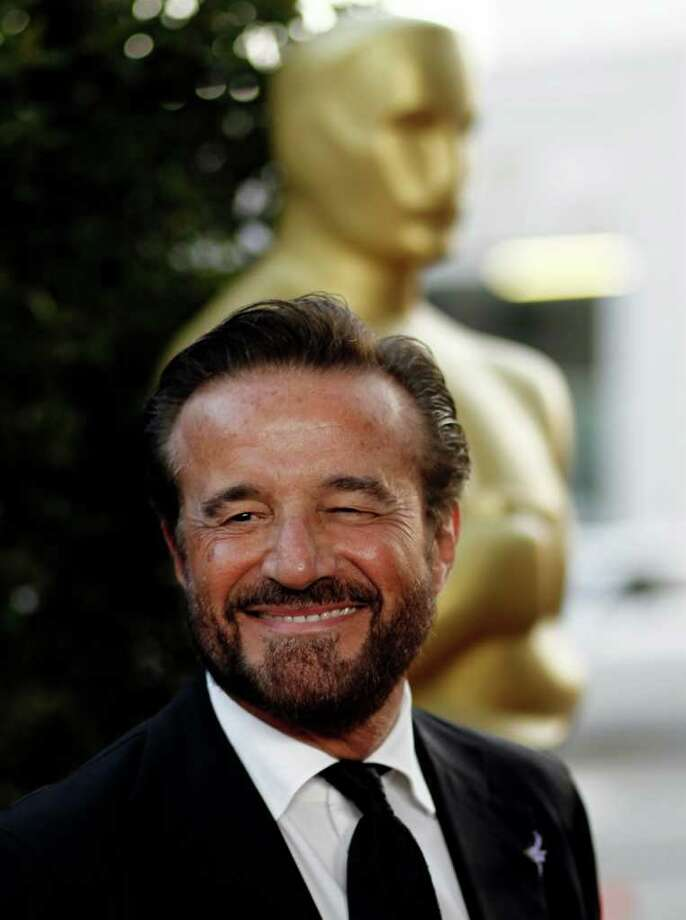 Italian actor Christian De Sica arrives at The Academy of Motion Picture Arts and Sciences Tribute honoring Sophia Loren in Beverly Hills, Calif., Wednesday, May 4, 2011.  Loren's life and career will be celebrated by friends and colleagues Wednesday. Photo: AP