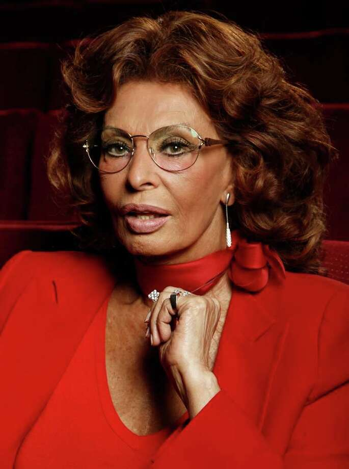 In this April 29, 2011 photo, actress Sophia Loren poses for a portrait at the Academy of Motion Pictures Arts and Sciences in Beverly Hills, Calif. Loren will be honored Wednesday, May 4, by the Academy of Motion Picture Arts and Sciences for her half-dozen decades in cinema. Photo: AP