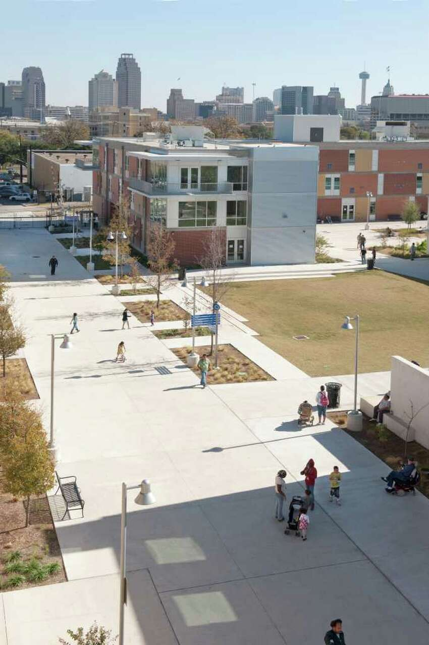 A top view of the Haven for Hope campus.