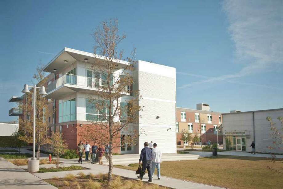 Haven for Hope is a 37-acre campus that aids homeless individuals by providing meals, mental health services and a pace to stay while in transition to permanent housing and employment. Photo: Courtesy Paul Hester / © 2010 Hester + Hardaway