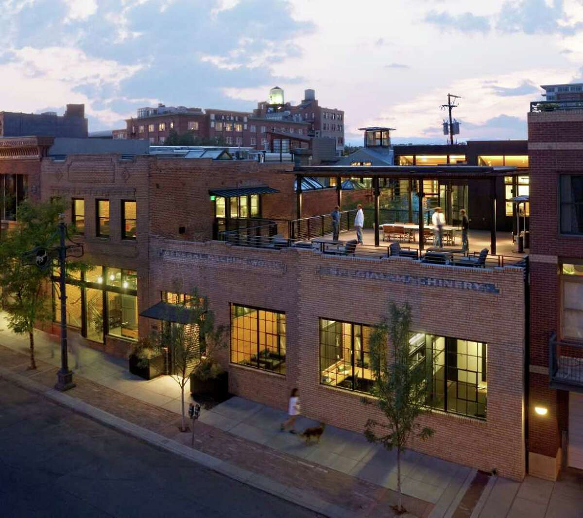 The firm also won an AIA Honor Award for Interior Architecture for the Armstrong Oil & Gas headquarters in Denver, previously a machine shop.