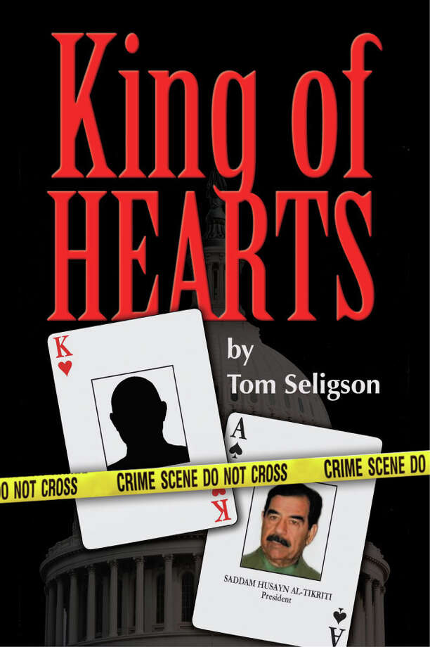 Pictured is the cover of King of Hearts, a thriller penned by television producer and three-time Emmy winner Tom Seligson. It is Seligson's first book in 20-plus years. Photo: Contributed Photo / Westport News