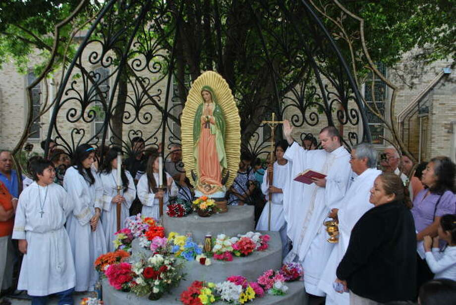 Queen of Peace Catholic Church's new Our Lady of Guadalupe shrine. Photo: Photo Courtesy Our Lady Of Guadalupe