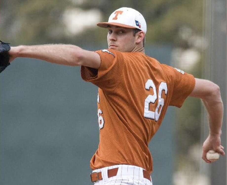 Longhorns ace Taylor Jungmann is projected to be a first-round pick in June's MLB amateur draft.   UNIVERSITY OF TEXAS COURTESY PHOTO