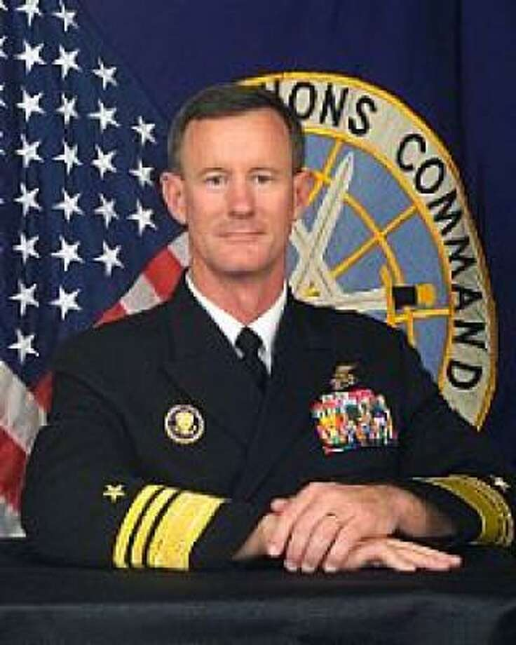 Vice Adm. William H. McRaven Photo: Handout Photo