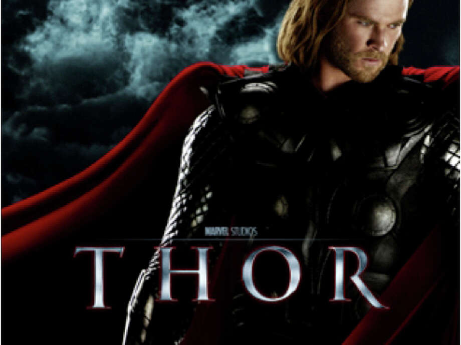 """""""Thor,"""" a movie based on the Marvel Comics superhero, is among the latest releases to hit area movie theaters. Photo: Contributed Photo / Westport News contributed"""