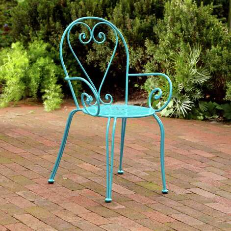 colorful Madeline bistro chair. $34.99 at Cost Plus World Market / DirectToArchive