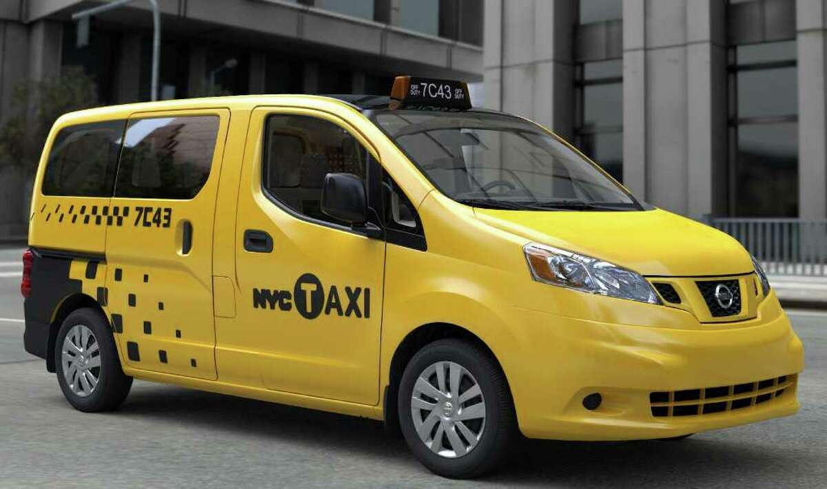 The new NV200 compact commercial van will become city's exclusive taxi in 2013.
