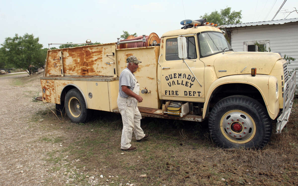 Buster Langley of the Quemado VFD is among many in the small farming community who feel ignored by Maverick County leaders.