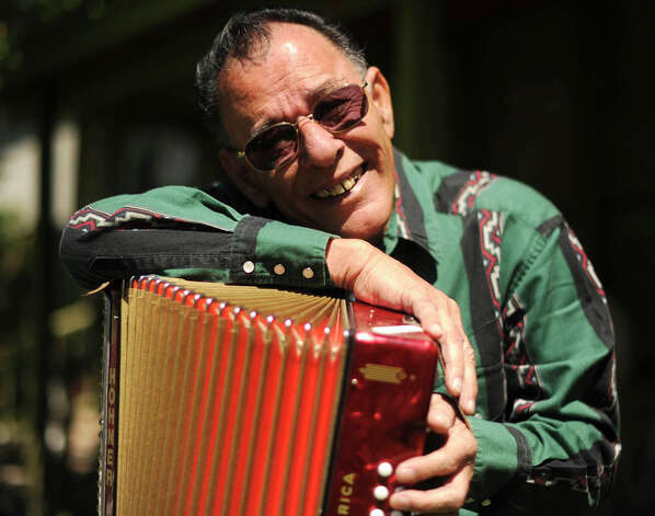 "Legendary conjunto accordionist Santiago ""El Chief"" Jimenez Jr. will be inducted into the Conjunto Hall of Fame this year. BILLY CALZADA / EXPRESS-NEWS"