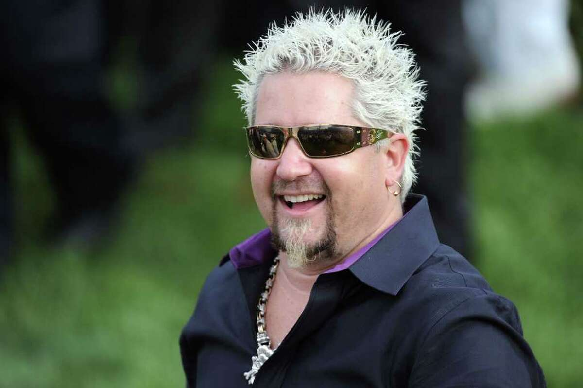 Celebrity chef Guy Fieri attends the 137th Kentucky Derby at Churchill Downs on May 7, 2011 in Louisville, Kentucky.